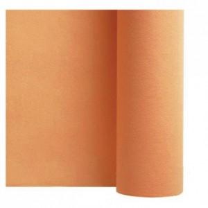 Non woven table cloth mandarin 1.2 x 25 m
