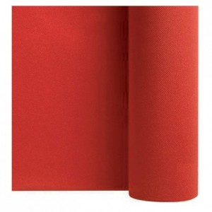 Non woven table cloth red 1.2 x 25 m