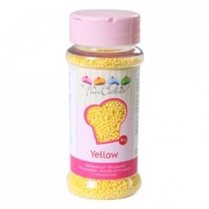 Nonpareilles FunCakes jaune 80 g