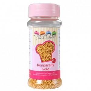 FunCakes Nonpareils Gold 80g