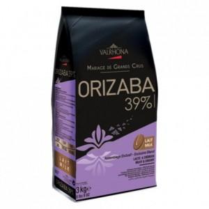 Orizaba 39% milk chocolate Blended Origins Grand Cru beans 3 kg