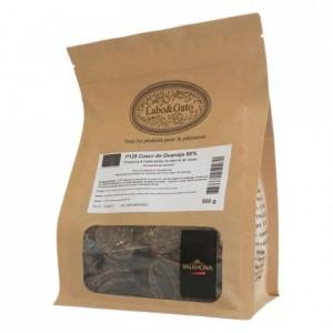 P125 Coeur de Guanaja 80% concentré de chocolat fèves 500 g