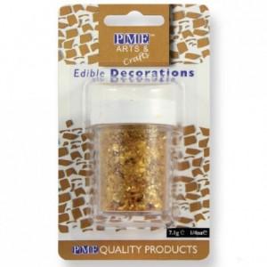 PME Glitter Flakes Gold 7g