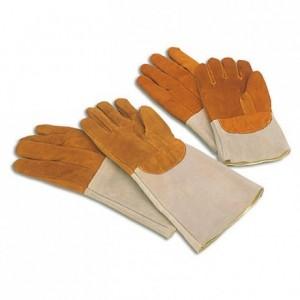 Paire de gants grand modèle de protection thermique