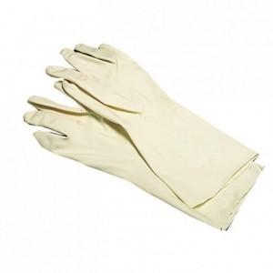 Paire gants pour tirer le sucre en latex taille 7 / 7,5