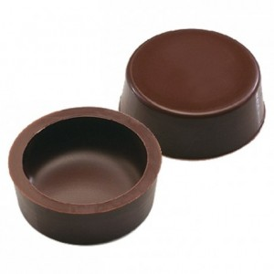 Palets dark chocolate hollow forms 630 pcs