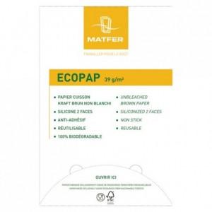 Papier cuisson Ecopap 600 x 400 mm (500 feuilles)