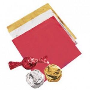 Papier d'emballage Wilton argent 50 pièces