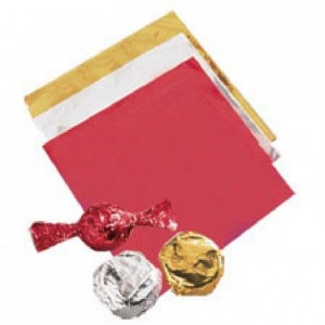 Wilton Foil Wrappers Gold pk/50