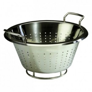 Conical colander stainless steel Ø 360 mm