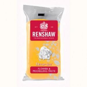 Pâte à fleurs Renshaw jaune jonquille 250 g