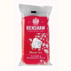 Pâte à fleurs Renshaw rouge oeillet 250 g