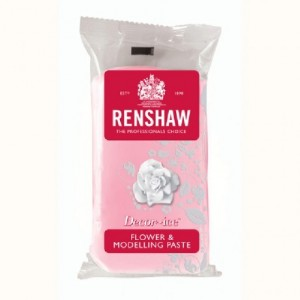 Pâte à fleurs Renshaw rose 250 g