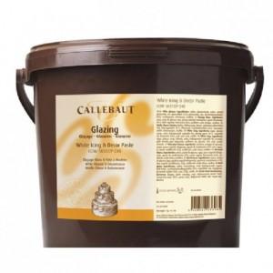 Pâte à sucre Callebaut blanche 7 kg