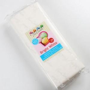Pâte à sucre FunCakes blanc brillant 1 kg