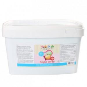 FunCakes Fondant Bright White Vanilla 5kg pail