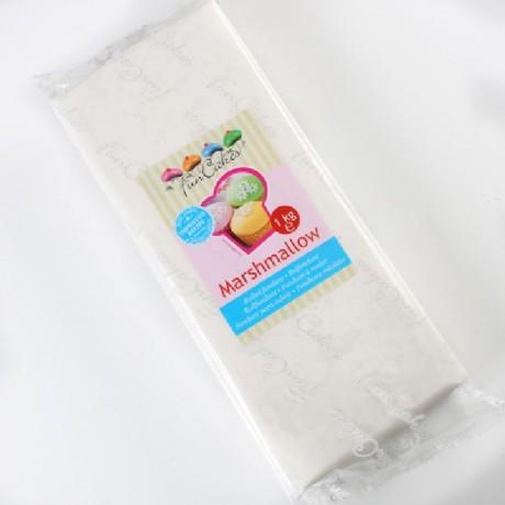 Pâte à sucre FunCakes blanc marshmallow 1 kg