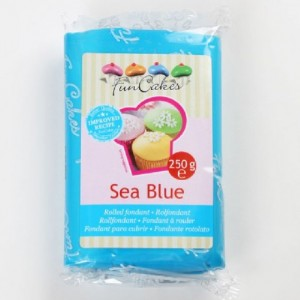 FunCakes Fondant Sea Blue 250g