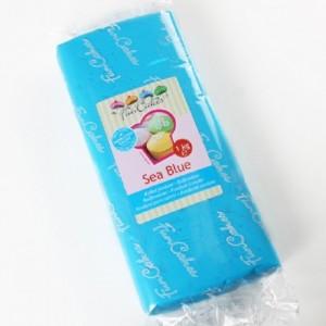 Pâte à sucre FunCakes bleue 1 kg