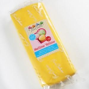 Pâte à sucre FunCakes jaune 1 kg