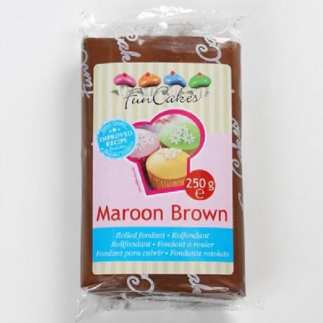 Pâte à sucre FunCakes chocolat 250 g