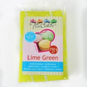 Pâte à sucre FunCakes citron vert 250 g