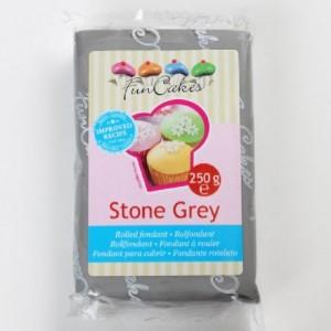 Pâte à sucre FunCakes grise 250 g