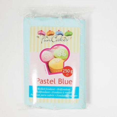 Pâte à sucre FunCakes bleu pastel 250 g