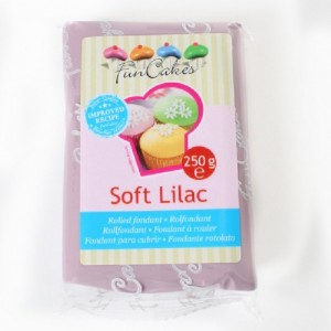 Pâte à sucre FunCakes lilas 250 g