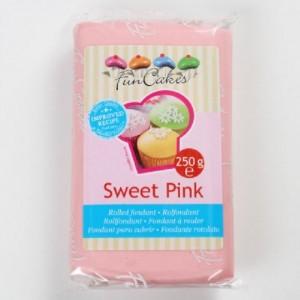 Pâte à sucre FunCakes rose clair 250 g