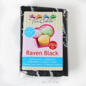 Pâte à sucre FunCakes noire 250 g