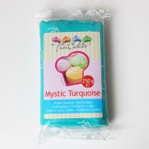 Pâte à sucre FunCakes turquoise 250 g