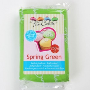 Pâte à sucre FunCakes vert 250 g