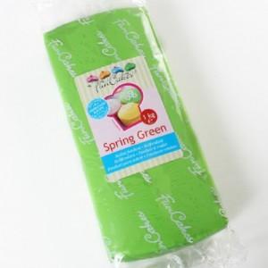 Pâte à sucre FunCakes verte 1 kg
