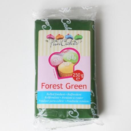 Pâte à sucre FunCakes vert forêt 250 g