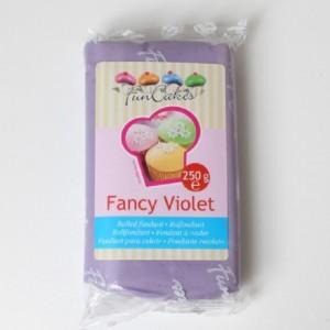 Pâte à sucre FunCakes violet chic 250 g