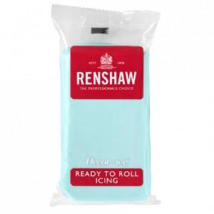 Pâte à sucre Renshaw bleu azurin 250 g