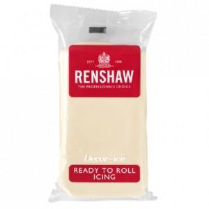 Pâte à sucre Renshaw chocolat blanc 250 g