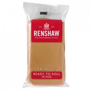 Pâte à sucre Renshaw brun nounours 250 g
