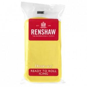 Pâte à sucre Renshaw jaune pastel 250 g