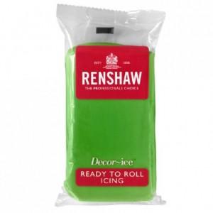 Renshaw Rolled Fondant Pro 250g Lincoln Green