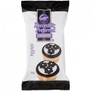 Pâte à sucre Wilton noir 250 g