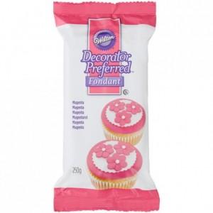Pâte à sucre Wilton rose 250 g