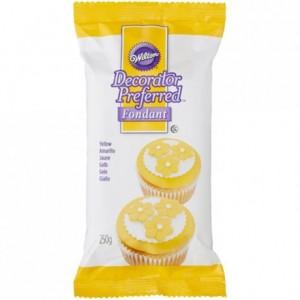 Pâte à sucre Wilton jaune 250 g