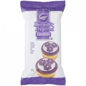 Pâte à sucre Wilton violet 250 g
