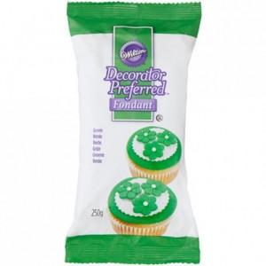 Pâte à sucre Wilton vert 250 g