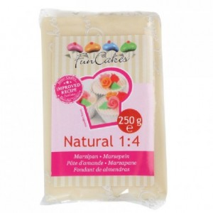 FunCakes Marzipan Natural 1:4 Ready to Roll 250g