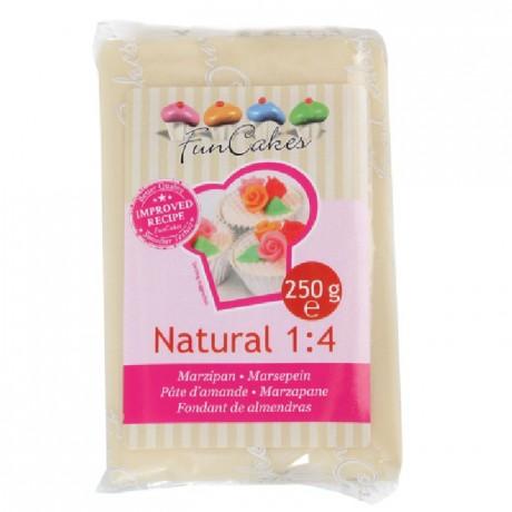 Pâte d'amande 20% FunCakes naturel 250 g