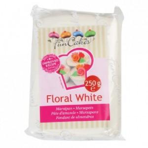 Pâte d'amande FunCakes blanc 250 g