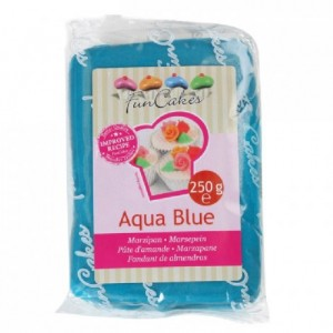 Pâte d'amande FunCakes bleu 250 g